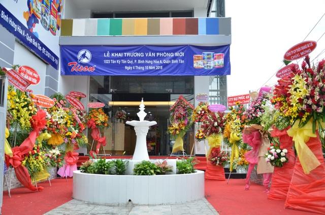 Khai trương văn phòng mới Sơn Tison niềm tin của mọi công trình - 2