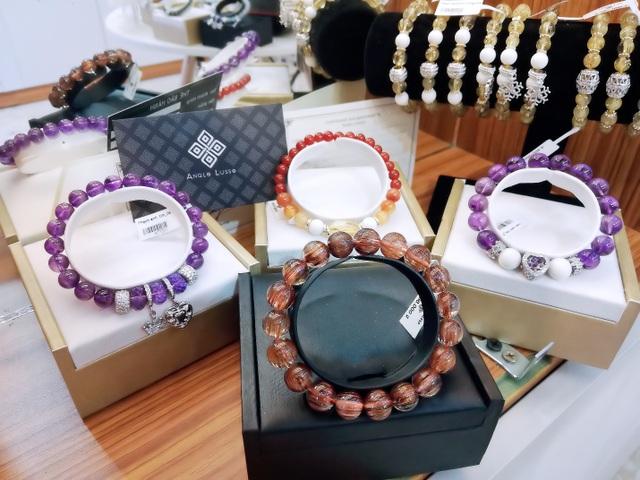 Một số mẫu đá quý tiêu biểu tại showroom của Anqlo Lusso