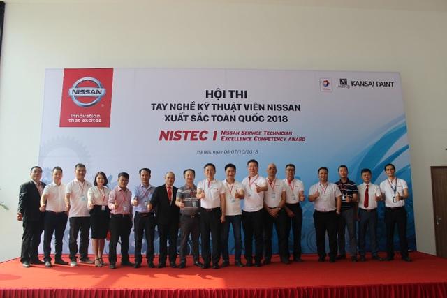 Hội thi tay nghề Kỹ thuật viên Nissan xuất sắc toàn quốc 2018 - 1