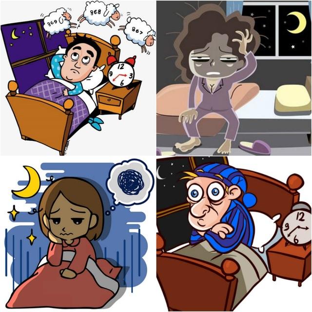 80% trường hợp mất ngủ kinh niên là do thiếu máu não.