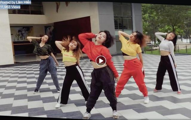 Màn cover của nhóm Lâm Hiền chẳng thua gì một nhóm nhảy chuyên nghiệp.