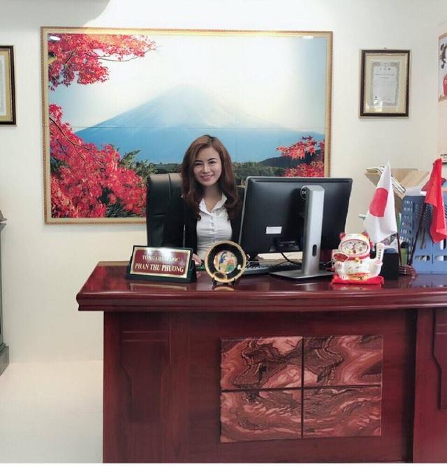 Chị Thu Phương–Tổng giám đốc Công ty CP tư vấn du học Mặt Trời Mọc Hinode