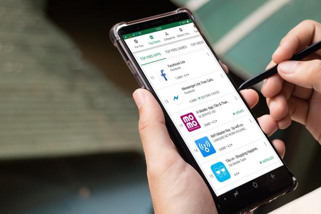 Ví điện tử Việt  thăng hạng thần tốc trên Google Play - 1