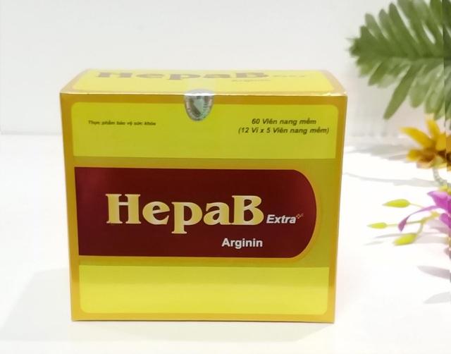 HepaB Extra (Sản phẩm này không phải là thuốc và không có tác dụng thay thế thuốc chữa bệnh)