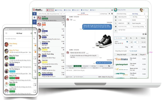 Phần mềm quản lí bán hàng đa kênh toàn diện - 3