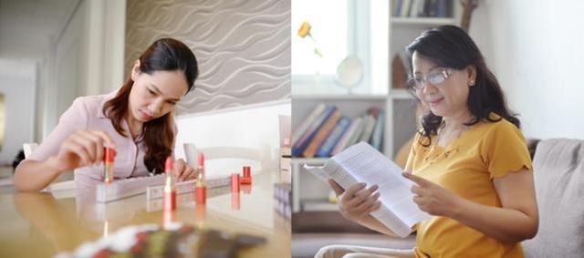 Hành trình khởi nghiệp từ đam mê của hai người phụ nữ Ngọc Hiệp và Phương Ngọc đã truyền cảm hứng đến các chị em phụ nữ Việt Nam (từ trái sang).