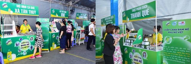 Phiên chợ cuối tuần tại Thanh Hoá và Bến Tre nhận được sự ủng hộ và tham gia đông đảo từ cộng đồng