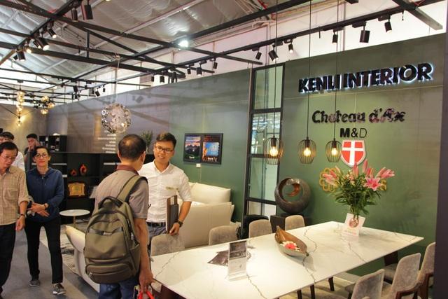 Nội thất nhập khẩu Italia luôn nhận được sự quan tâm đặc biệt tại các hội chợ, triển lãm