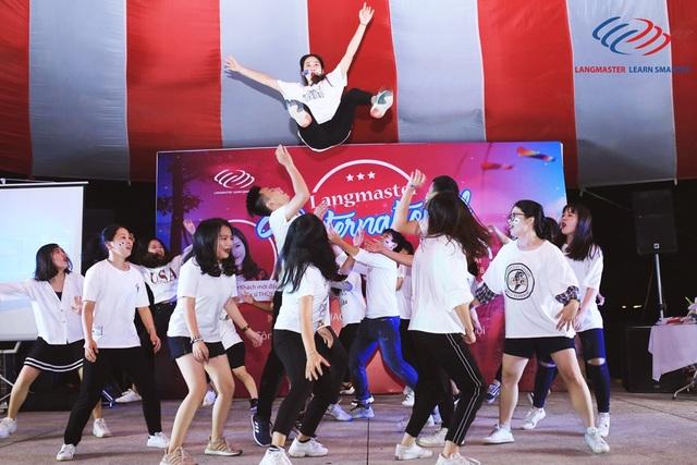 Phần thi Got Talent tài năng của các học viên