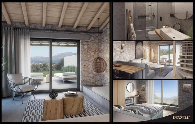 Hình ảnh căn biệt thự nghỉ dưỡng có mức giá từ 7 tỷ đồng tại Hy Lạp