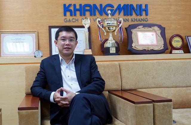 Ông Đặng Việt Lê – Chủ tịch HĐQT Công ty Gạch Khang Minh