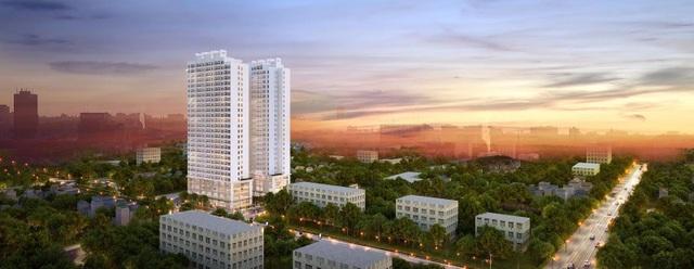 Athena Complex tọa lạc tại 161 Ngọc Hồi, Hoàng Mai, Hà Nội.