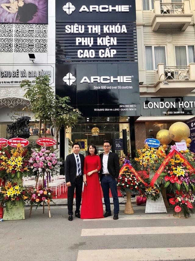 Thương hiệu khóa và phụ kiện cao cấp Archie chính thức có mặt tại Quảng Ninh - 2