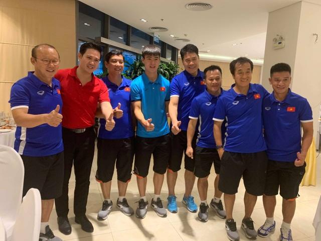 Ông Tam chúc Thầy Park và các học trò sẽ tiếp tục chiến thắng ở trận chung kết sắp tới với Malaysia