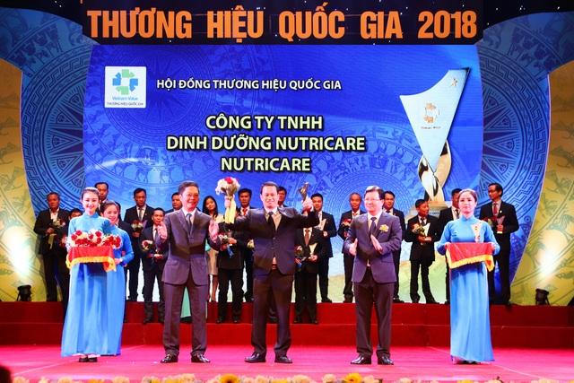 Nutricare vinh dự đón nhận Giải thưởng Thương hiệu quốc gia - Ảnh 1.