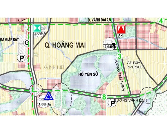 Quy hoạch, giao thông phát triển, Hoàng Mai trở thành quận lý tưởng để an cư - Ảnh 1.