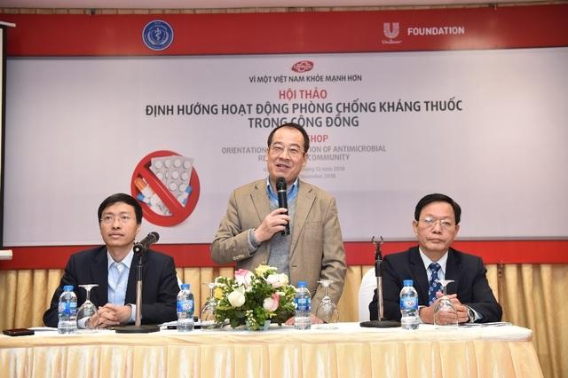 Phòng chống kháng thuốc tại Việt Nam cần các biện pháp hiệu quả hơn! - Ảnh 1.