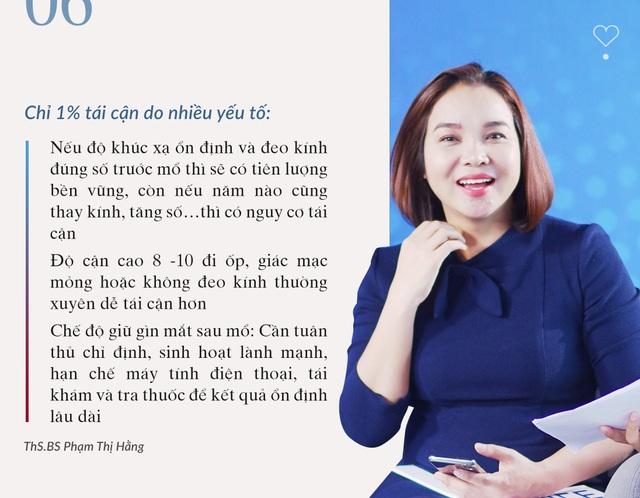 Giải đáp phẫu thuật cận thị từ A-Zcùng chuyên gia của Bệnh viện Mắt Quốc tế DND - Ảnh 6.