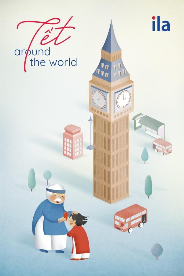 """""""Tết Around The World"""" - dự án nghệ thuật sáng tạo ngày Tết của ILA - Ảnh 1."""