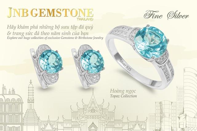 Cơ hội sở hữu trang sức đá quý JNB GEMSTONE đẳng cấp quốc tế - Ảnh 1.