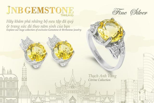 Cơ hội sở hữu trang sức đá quý JNB GEMSTONE đẳng cấp quốc tế - Ảnh 2.