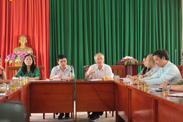 Buổi gặp gỡ giữa Hiệp hội Du lịch Việt Nam với sở Văn hóa Thể thao và Du lịch tỉnh Cao Bằng