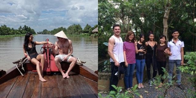 Zac Efron trong chuyến du lịch Việt Nam cùng bạn gái.