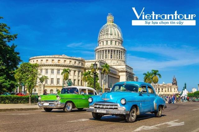 La Habana – nơi tập trung đủ loại xe Mỹ kiểu cổ