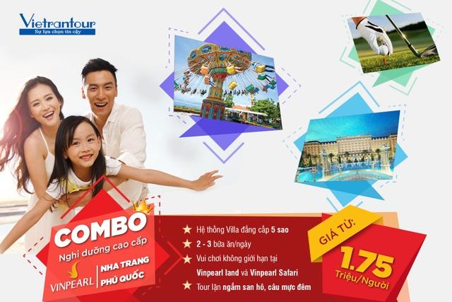 Combo nghỉ dưỡng ở villa Phú Quốc, Nha Trang 5 sao chỉ 1,75 triệu đồng - 1