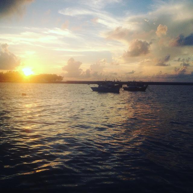 Cảnh đẹp thơ mộng trên đảo Phú Quý. (Ảnh: im.tudai)