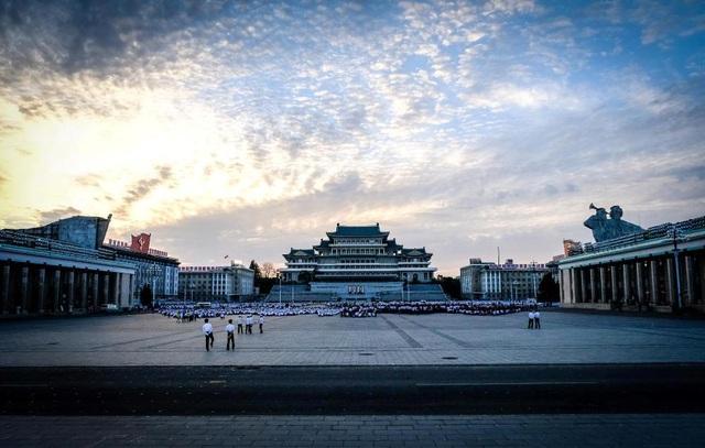 Cảnh sắc thu Triều Tiên.