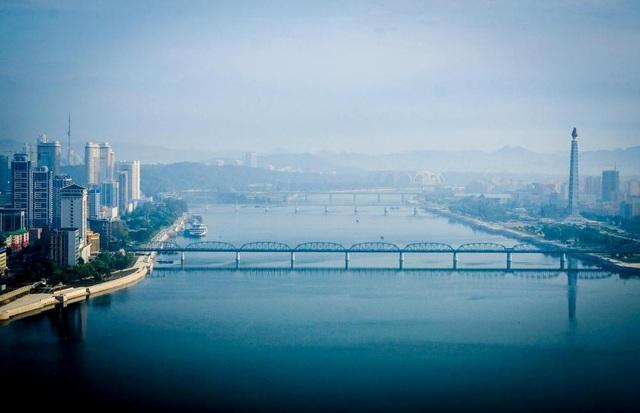 Một góc Triều Tiên vào sáng sớm.