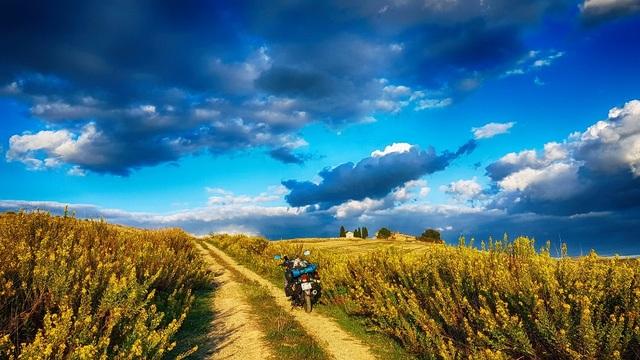 """Bức ảnh chụp tại Tuscany – nơi chàng trai Việt đã """"bỏ quên con tim""""."""