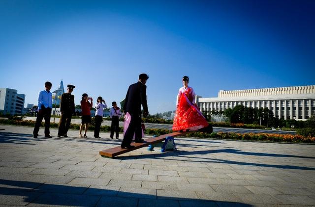 Chụp ảnh cưới ở Tiều Tiên.