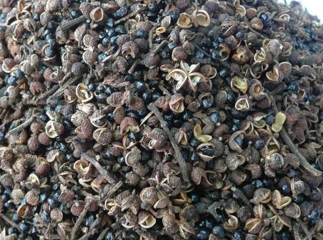 Hạt mắc khén là gia vị dùng trong hầu hết các món ăn của người Tây Bắc.