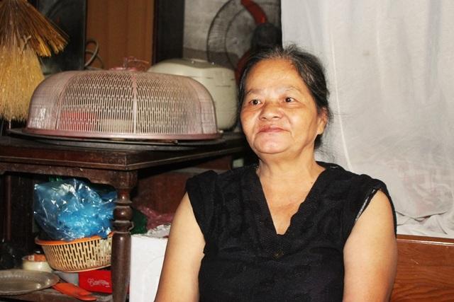 Bà Nguyễn Thị Bình năm nay đã 64 tuổi.