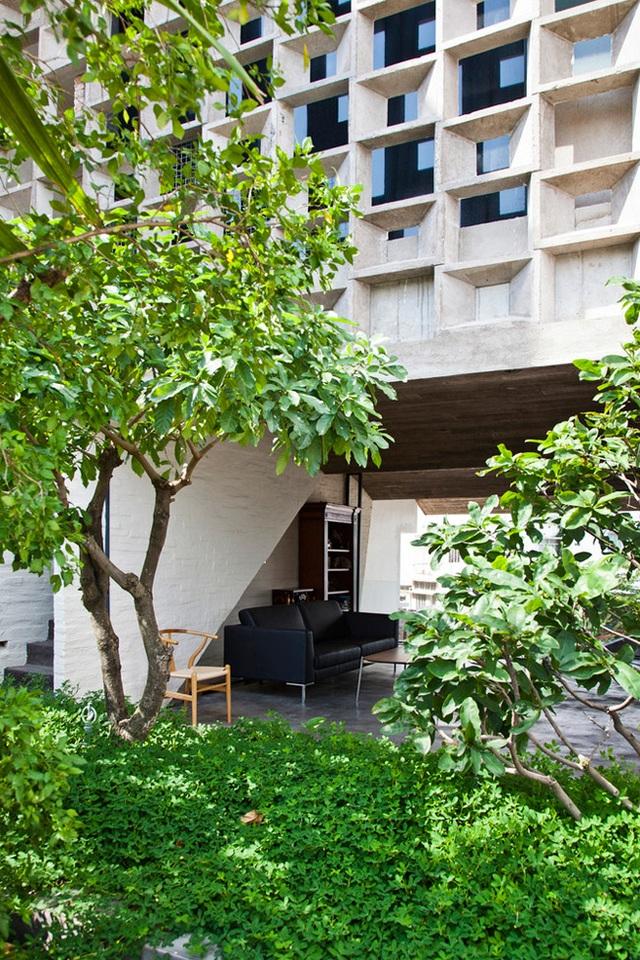 Với vị trí nằm gần công viên và cạnh sông, kiến trúc sư đã thiết kế ngôi nhà sao cho gần gũi nhất với thiên nhiên, không gian khoáng đạt, dễ chịu…