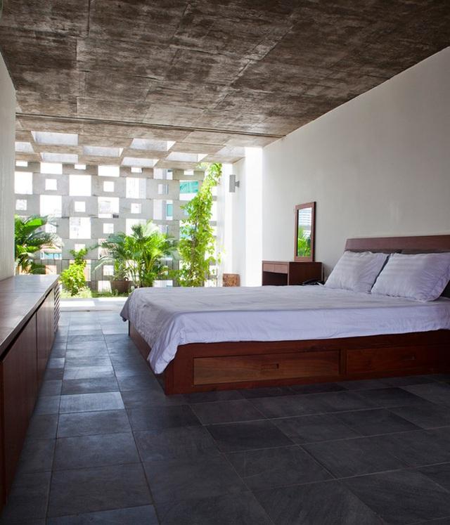 Phòng ngủ dễ chịu, tạo cảm giác thư thái