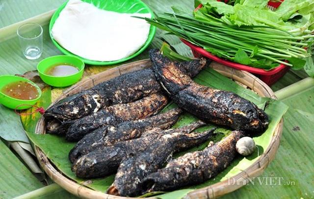 Thịt cá tràu tiến vua ăn rất chắc và thơm.(Ảnh: danviet)