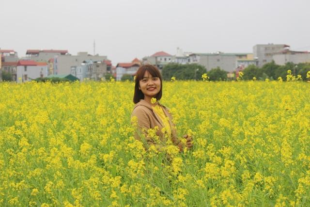Ngẩn ngơ giữa cánh đồng cải vàng sưởi ấm trời đông Hà Nội - 8