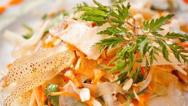 Sứa có thể chế biến thành nhiều món ăn khác nhau.
