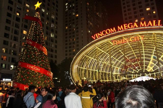 Người Hà Nội nô nức đổ về nhà thờ, trung tâm thương mại đón Giáng sinh - 12