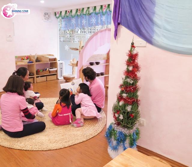 Một góc không gian lớp học tại Shining Star