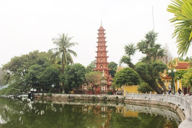 Cận cảnh ngôi chùa đẹp bậc nhất thế giới ở Hà Nội - 2