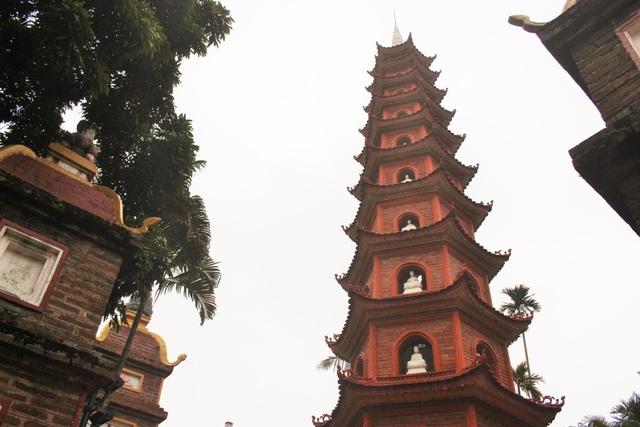 Cận cảnh ngôi chùa đẹp bậc nhất thế giới ở Hà Nội - 5