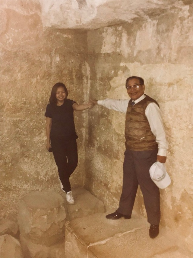 Bên trong lòng kim tự tháp ở Giza