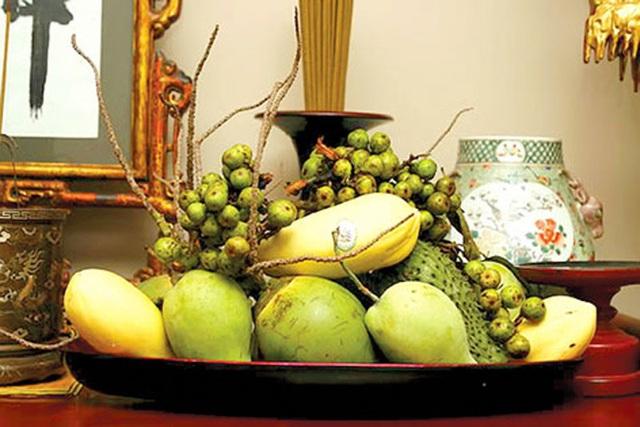 Mâm ngũ quả miền Nam với các loại quả đặc trưng