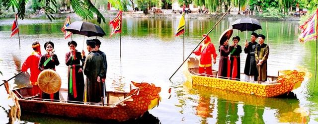 Hội Lim được coi là nét kết tinh độc đáo của vùng văn hóa Kinh Bắc. (Ảnh: Internet)