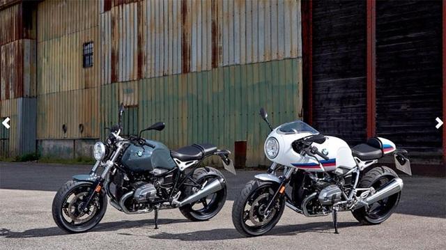 Hai phiên bản BMW RnineT Scrambler và Racer