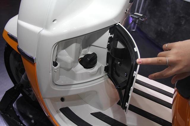 Peugeot Django 125 có giá bán 68,5 triệu đồng (đã có thuế GTGT).